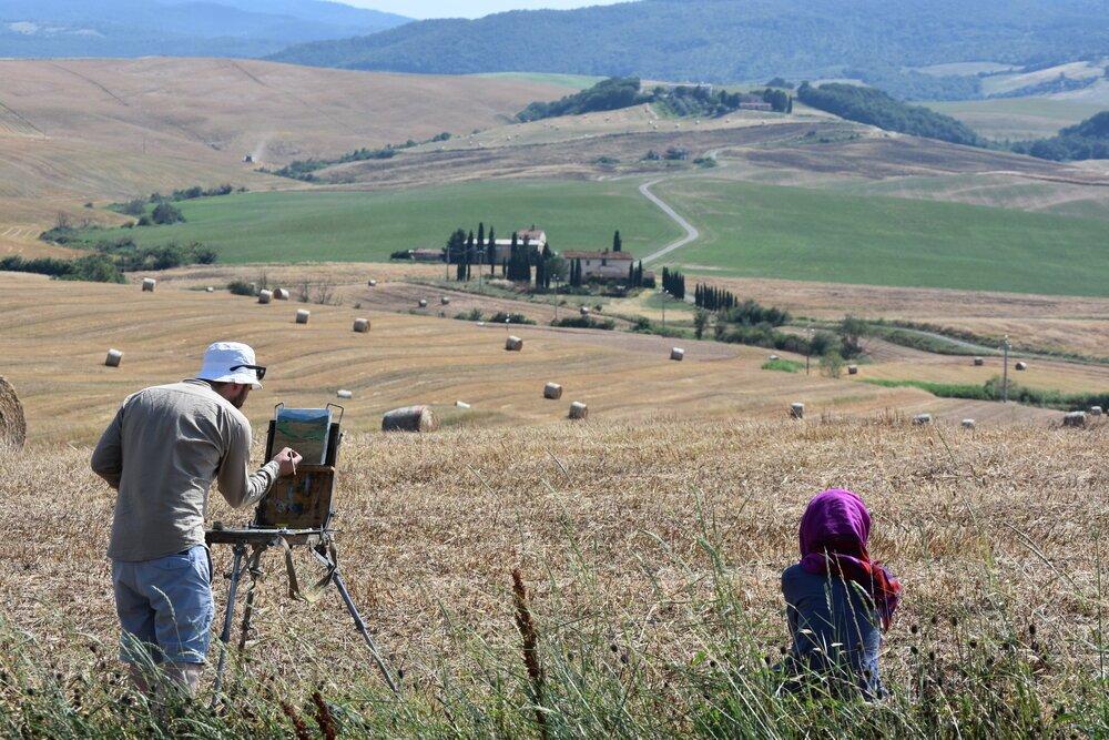 Atrás quedaría La Toscana y sus colores. FOTO: Pamy Rojas